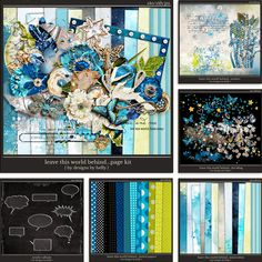 Leave This World Behind...the Bundle :: Collections :: Memory Scraps