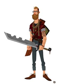 Hipster Warrior...I guess its a thing