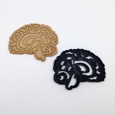 Brain Cookie Cutter 3D Printed by BoeTech on Etsy