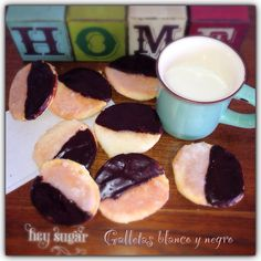 Galletas blanco y negro SIN GLUTEN GLUTEN FREE black and white cookies