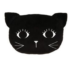 For cutesy cat style to soothe their sleep, opt for the plush polyester Kitty Kitty Novelty Cushion from Hiccups. Toys Online, Hiccup, Black Kids, Quilt Cover, Baby Items, Plush, Cushions, Kids Rugs, Kitty Kitty