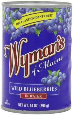 Wyman's Wild Blueberries in Water, 14-Ounce Can (Pack of 4) ** Don't get left behind, see this great product offer  : Baking Desserts recipes