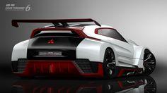 Présentation de la Mitsubishi Concept XR-PHEV EVOLUTION Vision Gran Turismo - INFOS - gran-turismo.com