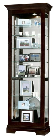 Furniture Trend Designs Curios Saloman Display Cabinet by Howard Miller