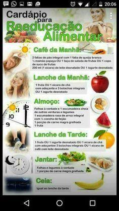 Faça reeducação alimentar