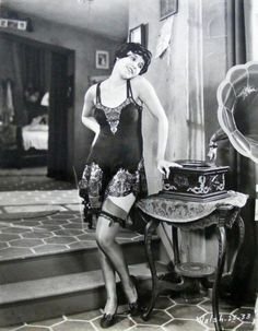 Vintage Lingerie Photos and Ads 1920-1950