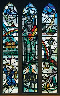 The Promise Window in Boe Chapel