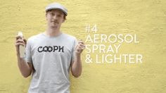 Tip 4: Use aerosol spray and a lighter to create dramatic fire effects.
