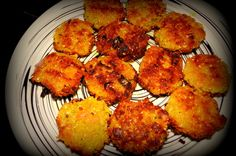 Narkeler Boda - Coconut Fritters  (Bengali)