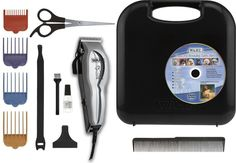 Wahl Pet Clipper Blades Grooming Kit Dog Supplier w/ Storage Case Oil Brush Home #Wahl