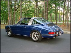 1971 Porsche 911, the year I fell in love with Targas.