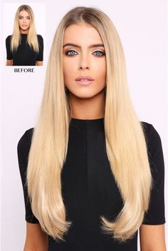 Thick 180g 1 Weft Straight Hair Extensions