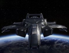 Star Citizen | Hornet - Ghost stealth variant.This is the reason I am excited for this game. Beautiful ship renderings from star citizen.
