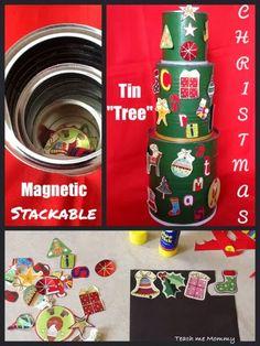 Christmas Tin Tree