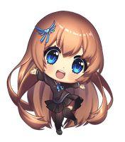 Style: manga Dessin: fille écolière