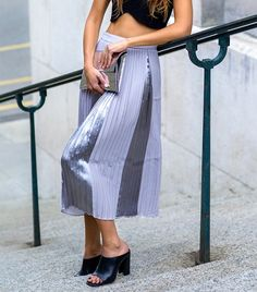 A strong Proenza Schouler vibe, but for a fraction of the price. // Skirt by ASOS