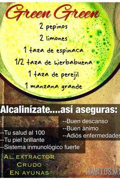 #Alcalinízate así cuidas tu salud, fortaleciendo tu sistema inmunológico.