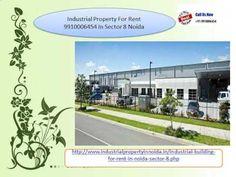 Industrial property in sec 8 noida 9910006454