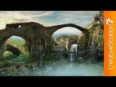 Lost City - Speed art ( #Photoshop CS6 ) | CreativeStation