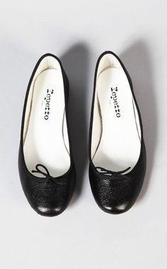 0e29b3d634491 repetto. classic. Black Ballerina, Black Ballet Flats, Black Flats, Prom  Shoes