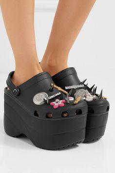 16486825d5b Balenciaga - + Crocs embellished rubber platform sandals