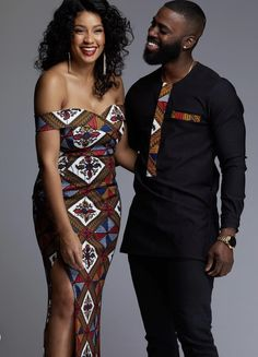 african couple fashion ideas, nigerian couple outfits, matching african outfits for family, african traditional outfits for couples, african dresses Couples African Outfits, African Clothing For Men, African Shirts, African Wear, African Women, African Clothes, African Attire For Men, Latest African Fashion Dresses, African Print Dresses