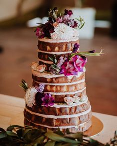 Wanaka's most beautiful and creative wedding cakes - they taste *just* as good as they look. Wedding Season, Wedding Day, Fresh Cake, Creative Wedding Cakes, Bright Flowers, Real Weddings, Destination Weddings, Wedding Desserts, Dessert Table