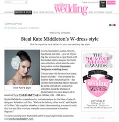 Enchanted Atelier for Sophie Hallette featured on You & Your Wedding UK