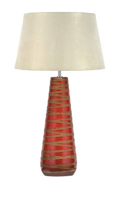 Pacific Lifestyle Volcanic Cone Table Lamp