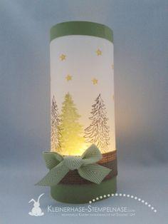 Stampin Up Evergreen Immergrün Weihnachten Windlicht 01                                                                                                                                                                                 Mehr