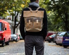 Hey, I found this really awesome Etsy listing at https://www.etsy.com/listing/115452123/backpack-handmade-mens-bag-canvas