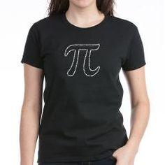 I think I actually may need this shirt.  Pi Digits in Pi Women's T-Shirt> Pi Day Shop