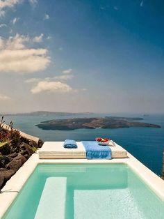 Inspiration deco outdoor : Une mini piscine pour ma terrasse ou mon jardin. Small pool / Terrace pool / Rooftop pool / Via Lejardindeclaire.