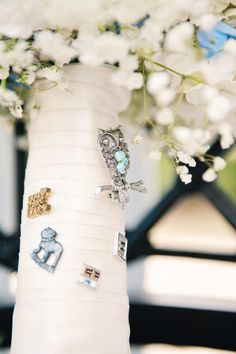 Bouquet charms - sweet way to keep memories of loved ones near