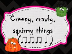 O For Tuna Orff: Halloween Rhythm Dictation slides for Powerpoint (Quarter and Eighth Notes) FREE! Preschool Music, Music Activities, Teaching Music, Children Activities, Holiday Activities, Music Lesson Plans, Music Lessons, Piano Lessons, Music Classroom