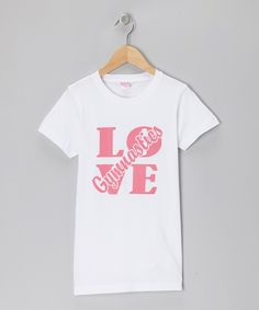 White 'Love Gymnastics' Tee - Toddler, Girls & Juniors | Daily deals for moms, babies and kids