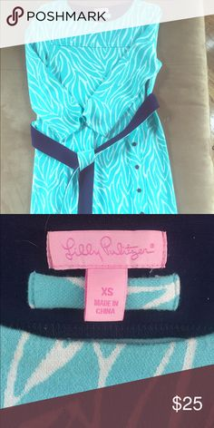 Lily Pulitzer cocktail dress Very thick fabric, long sleeves, comes with a sash (multiple ways to tie) size XS Lilly Pulitzer Dresses Long Sleeve