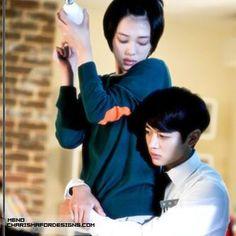 To The Beautiful You - Choi Jinri & Choi Minho The Beautiful You * Sulli & Choi Minho Sulli Choi, Choi Jin, Choi Min Ho, To The Beatiful You, Beautiful You Korean Drama, Korean Star, Korean Girl, Kpop, Anime K