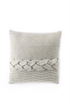 So many textural elements to this pillow!