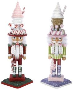 "Kurt Adler 15"" Hollywood Ice Cream Hat Nutcracker Set of 2 by Hollywood Nutcrackers, http://www.amazon.com/dp/B004YE041S/ref=cm_sw_r_pi_dp_3-barb0E7F6J8"