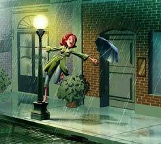 Cantando bajo la lluvia. Nina de San