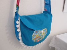 DIY Filz Hobo Umhängebeutel #folk love forever