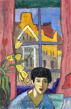Gabriele Münter - Future (Woman in Stockholm), 1917
