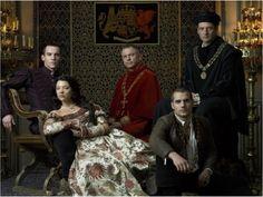 Sam Neill, Jeremy Northam, Jonathan Rhys Meyers, Henry Cavill and Natalie Dormer in Dynastia Tudorów (2007)
