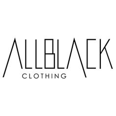 Design a catchy, sophisticated logo for an online retailer selling allblack.clothing! by LDYB