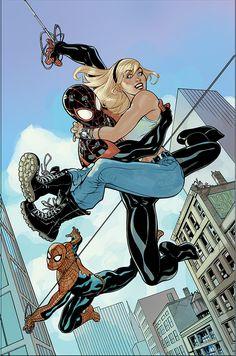 Spider-Men by Terry Dodson