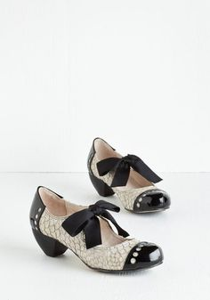 Bown Places Heel in Dove Grey $129.99 AT vintagedancer.com