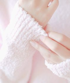 Pale Pink mohair