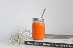 Smoothie Apfel Möhre Orangensaft