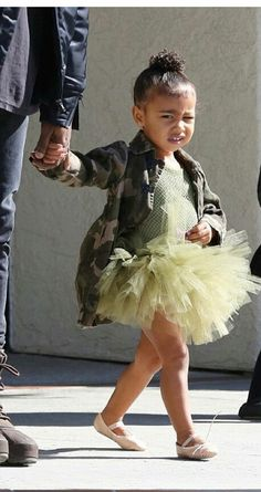 I mean, I would rock this myself - but North West does it best :)